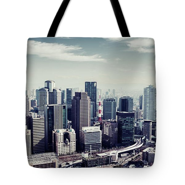 Tote Bag featuring the photograph Somewhere In Japan by Joseph Westrupp