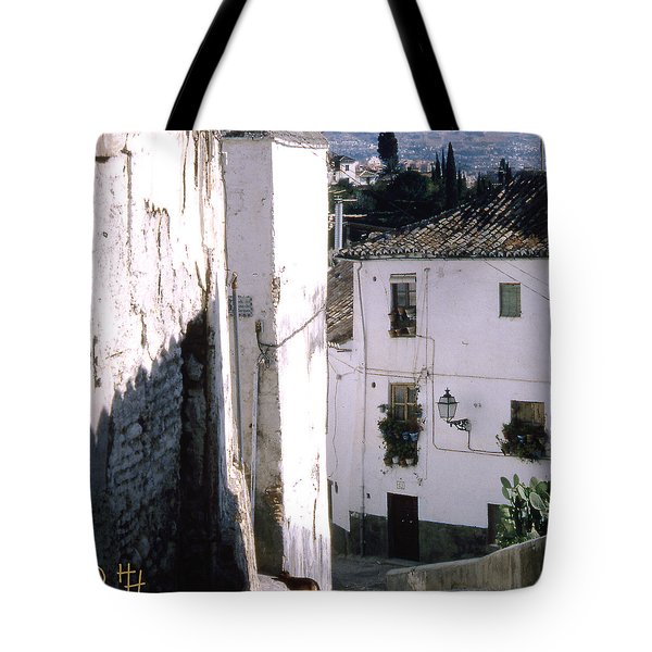 Somewhere In Rural Spain Tote Bag