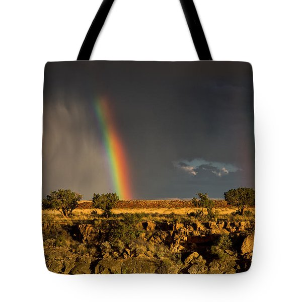 Somewhere Tote Bag by James Menzies