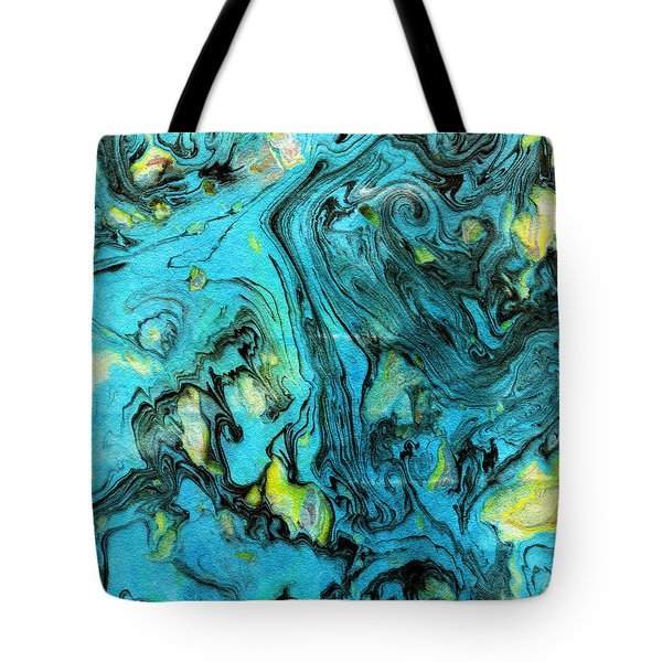 Somewhere New 6- Art By Linda Woods Tote Bag