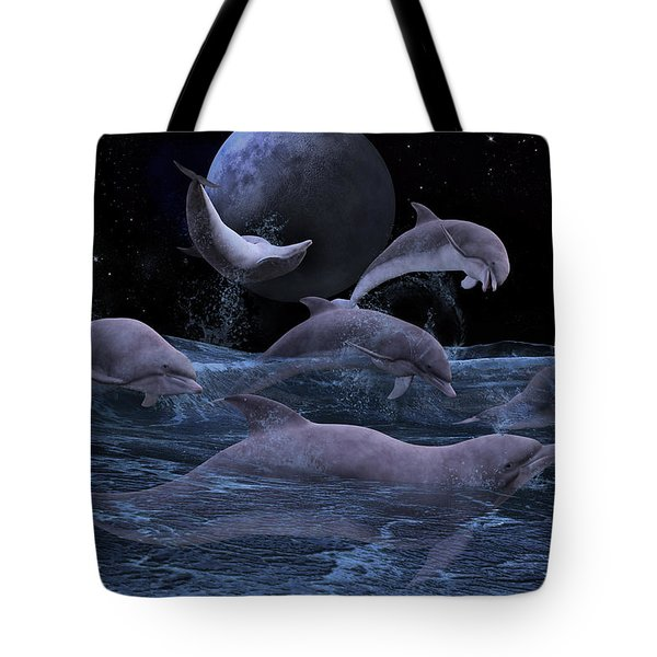 Somewhere Out There  Tote Bag by Betsy Knapp