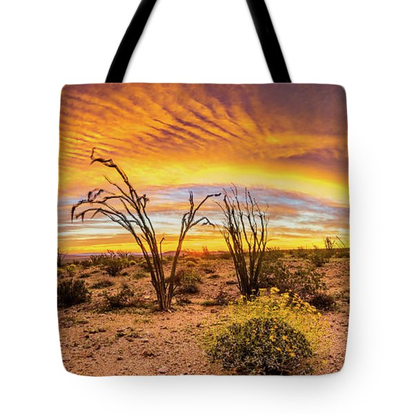 Somewhere Over Tote Bag by Peter Tellone