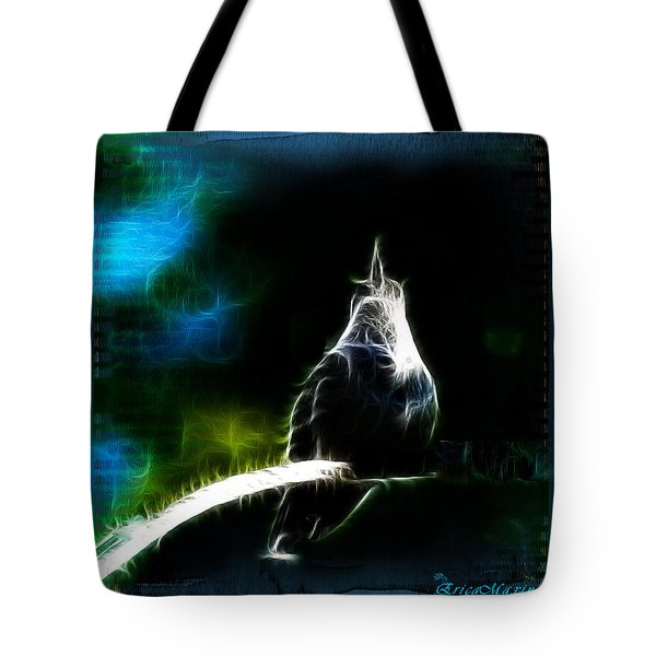 Tote Bag featuring the photograph Somewhere Over The Rainbow by EricaMaxine  Price