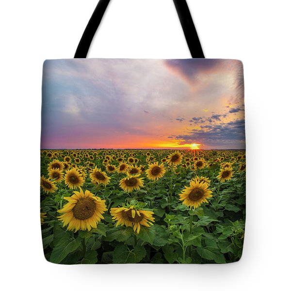 Somewhere Sunny  Tote Bag by Aaron J Groen