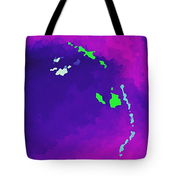 Tote Bag featuring the digital art Somewhere There Is Magic by Yshua The Painter