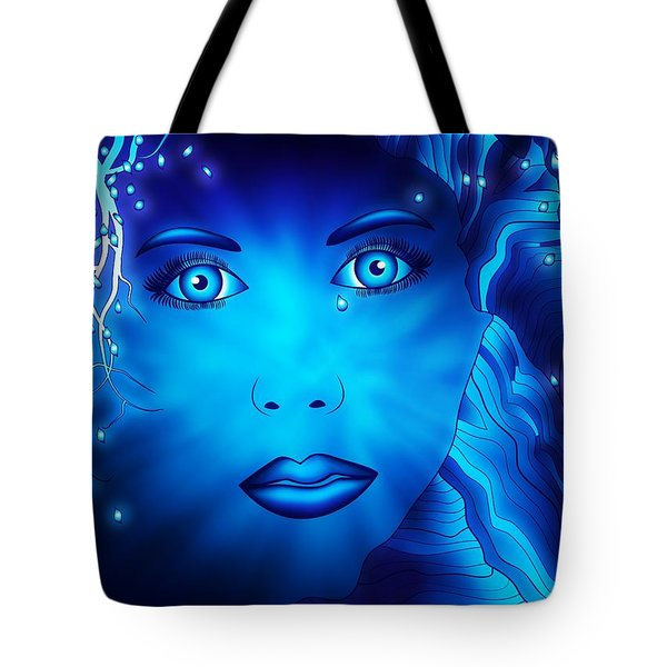 Somewhere Within Tote Bag by Serena King