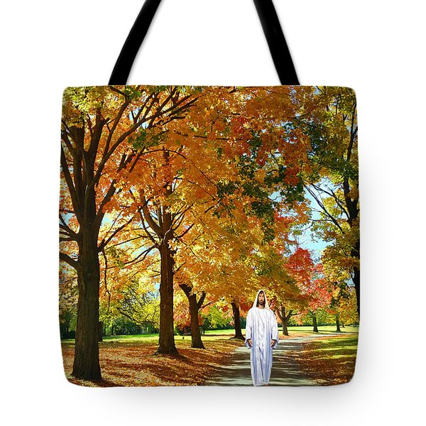 Son Of God Tote Bag