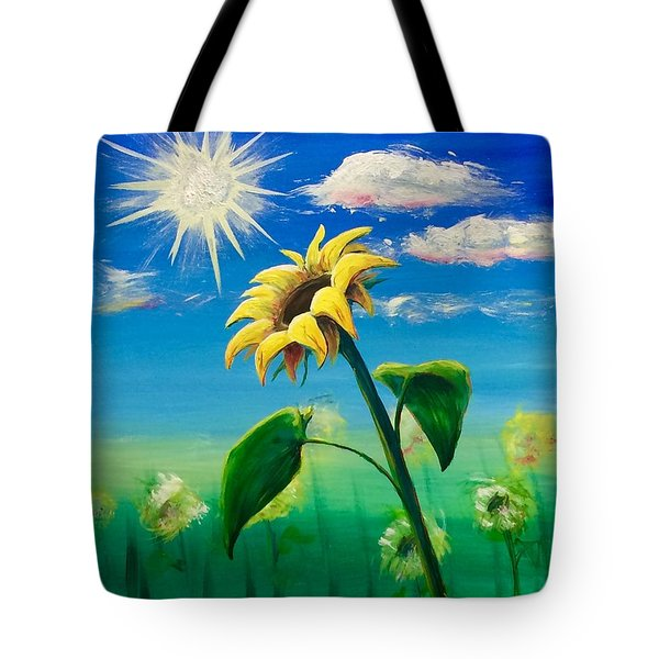 Sonflower Tote Bag