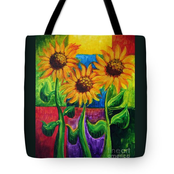 Sonflowers II Tote Bag