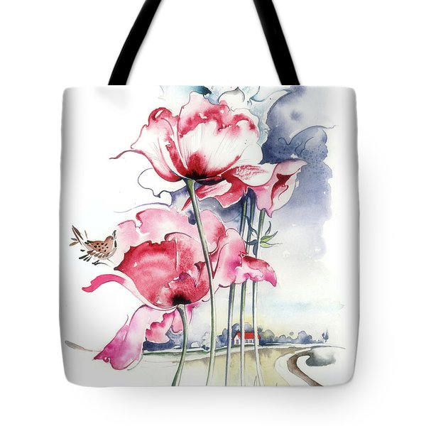 Song About The Earth Tote Bag by Anna Ewa Miarczynska