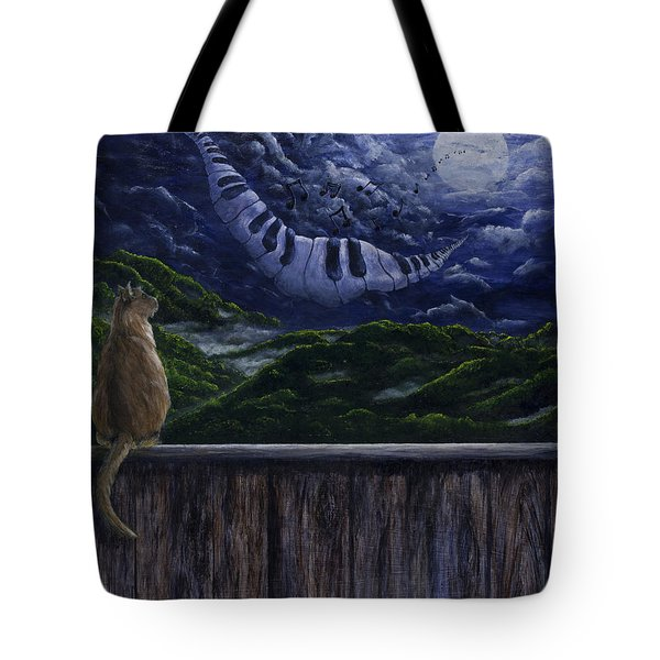 Song In The Night Tote Bag