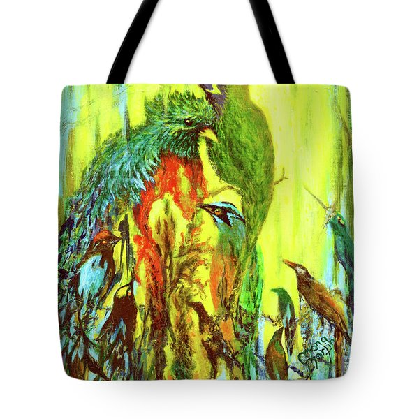 Song Of Costa Rica Tote Bag