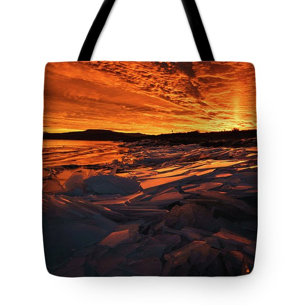 Song Of Ice And Fire Tote Bag by Justin Johnson