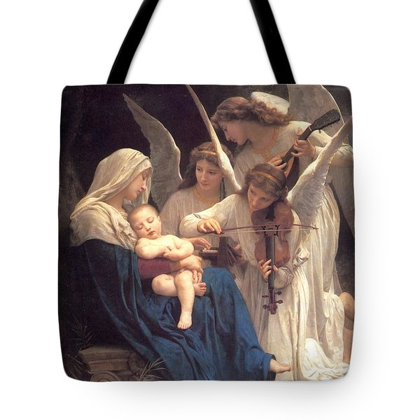 Song Of The Angels Tote Bag