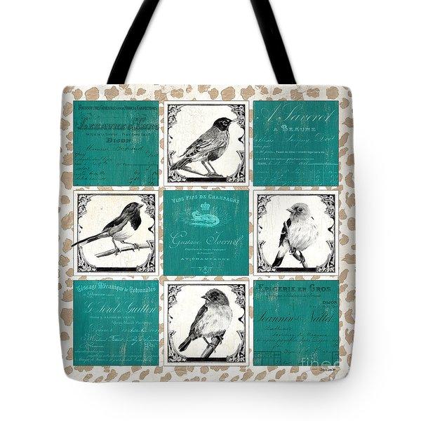 Songbird Cheetah Patch Tote Bag