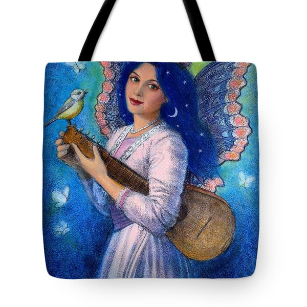 Songbird For A Blue Muse Tote Bag