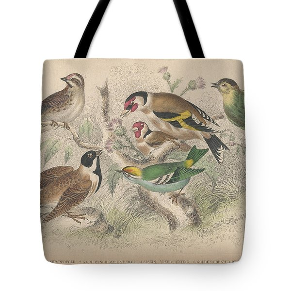Songbirds Tote Bag by Dreyer Wildlife Print Collections
