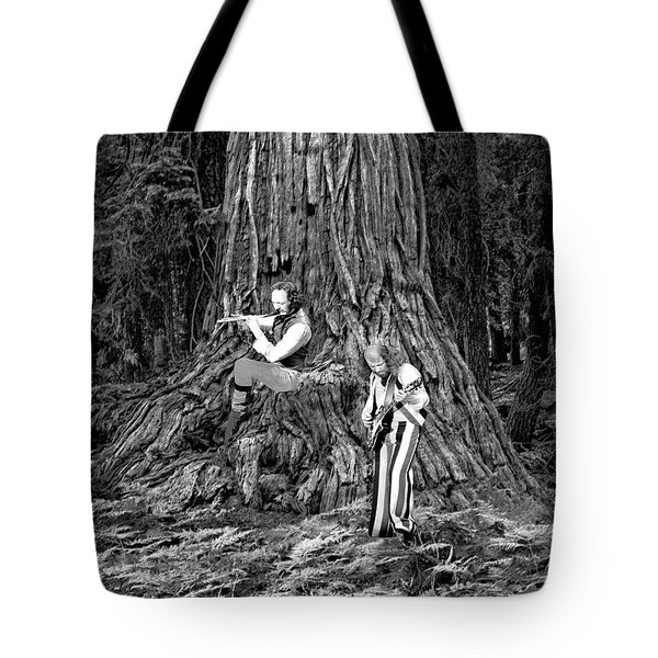 Tote Bag featuring the photograph Songs In The Woods by Ben Upham