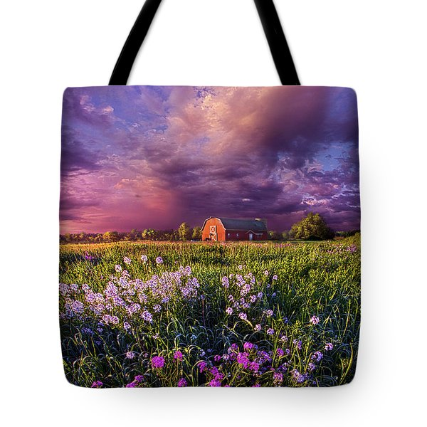 Songs Of Days Gone By Tote Bag by Phil Koch
