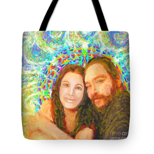 Sonia Marie And Her Sweetheart Tote Bag