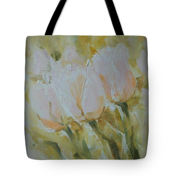 Sonnet To Tulips Tote Bag