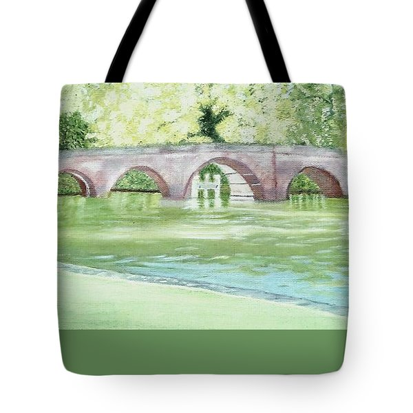 Sonning Bridge  Tote Bag by Joanne Perkins