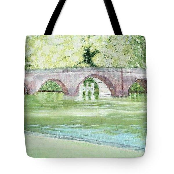 Sonning Bridge Tote Bag