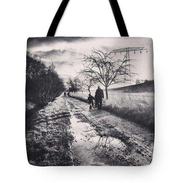 *sonntagsspaziergang  #landscape Tote Bag