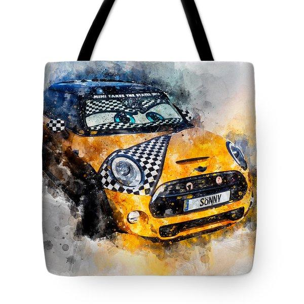 Sonny Watercolor Tote Bag
