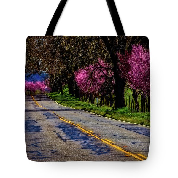 Sonoma Country Road Tote Bag