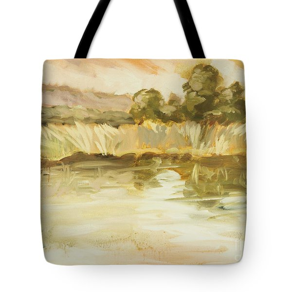 Sonoma Pond Ca Tote Bag