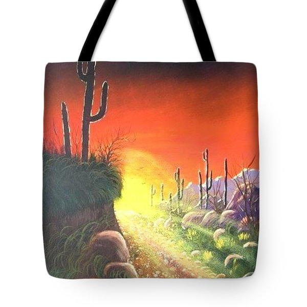 Sonora Sunrise Tote Bag