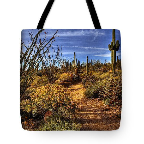 Sonoran Spring 01 Tote Bag