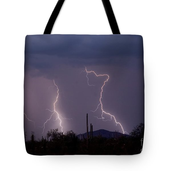 Sonoran Storm Tote Bag by James BO  Insogna