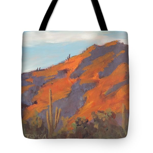 Sonoran Sunset - Art By Bill Tomsa Tote Bag