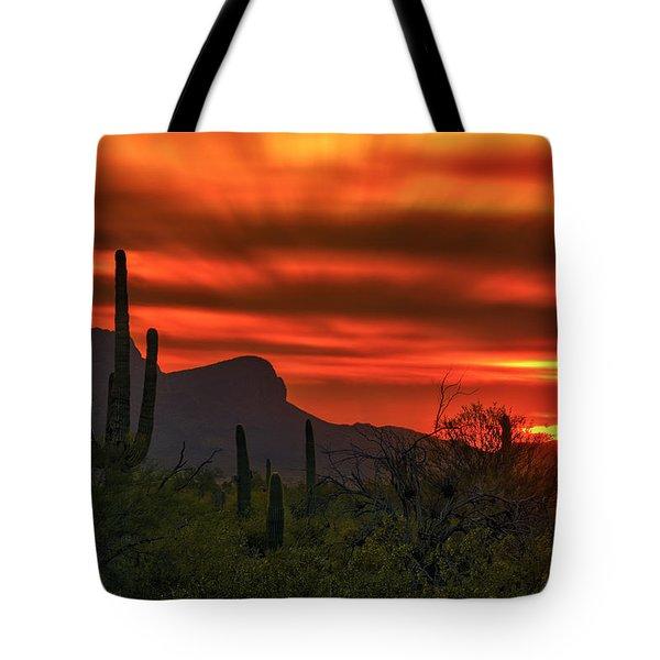 Sonoran Sunset H38 Tote Bag