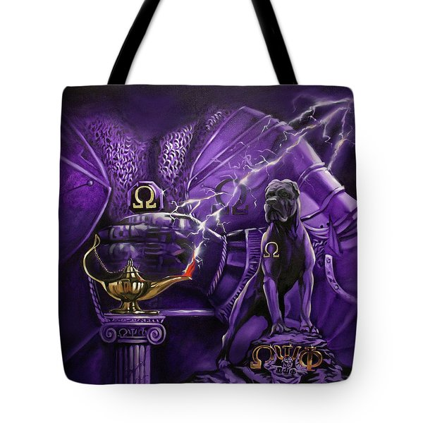 Sons Of Blood And Thunder Tote Bag