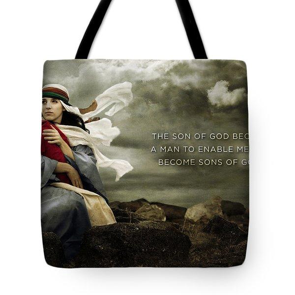Sons Of God Tote Bag