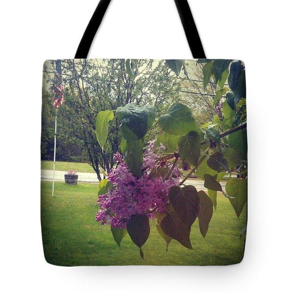 Lilac Life Tote Bag
