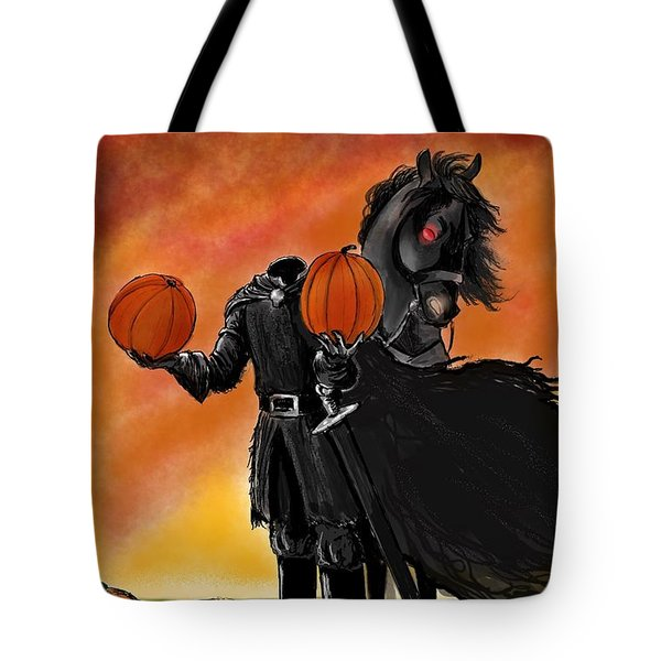Soon It Will Be All Hallows' Eve Tote Bag