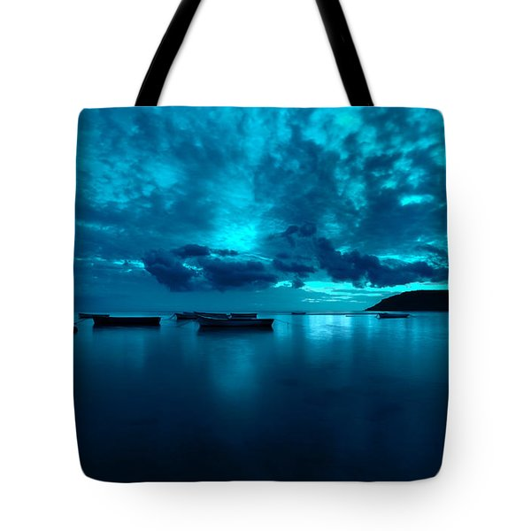 Soon The Night Shall Come Tote Bag