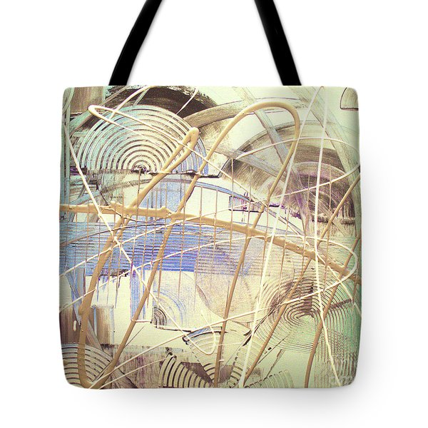 Tote Bag featuring the painting Soothe by Melissa Goodrich