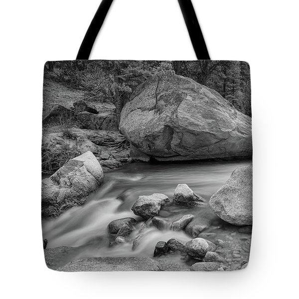 Soothing Colorado Monochrome Wilderness Tote Bag by James BO Insogna