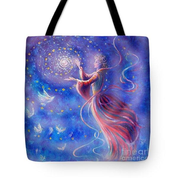 Sophia Finds Wisdom Tote Bag by Dee Davis