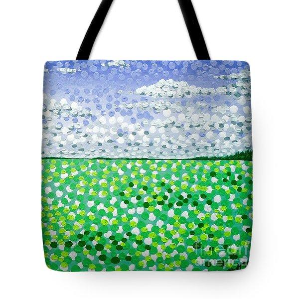 Sophia's Landscape Tote Bag by Alan Hogan