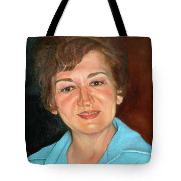 Tote Bag featuring the painting Sophie by Marlene Book