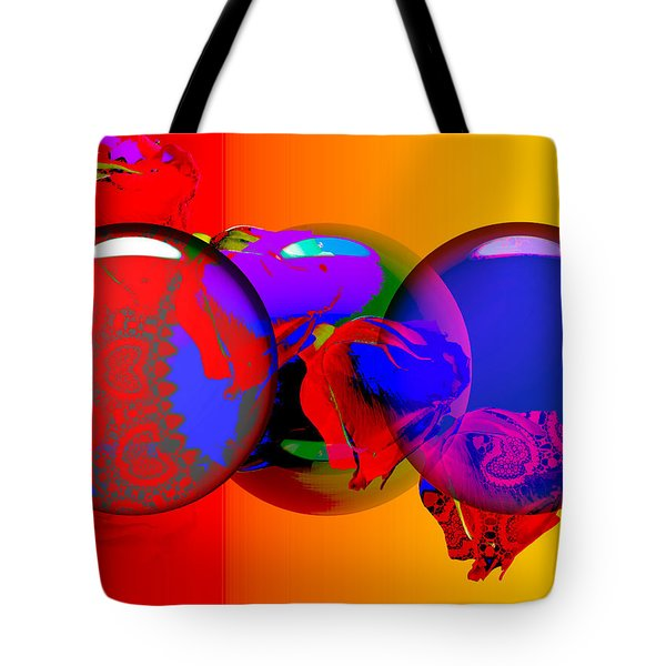 Tote Bag featuring the digital art Sophistacated Lady by Robert Orinski