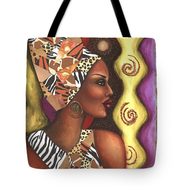 Sophisticated Safari Tote Bag