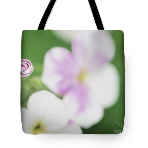 Sopht Phlox Tote Bag by Tim Good