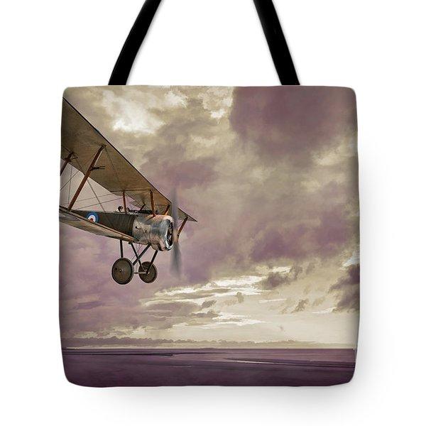 Sopwith Pup Biplane Tote Bag
